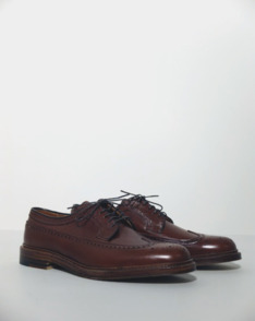 Brown Alpine Grain Long Wing Blucher by Alden available to buy at The Bureau Belfast