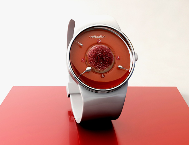 Fertilization Watch Concept by Andy Kurovets » Yanko Design