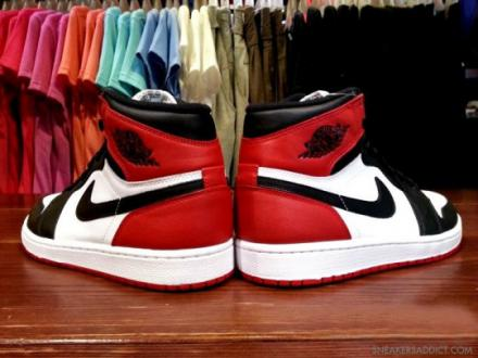 TENISUFKI.EU - Air Jordan 1 Black Toe - Summer 2013
