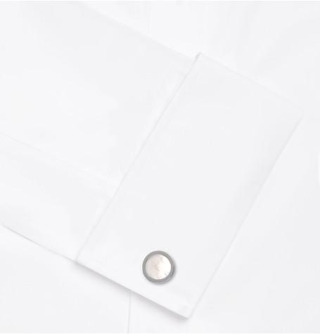 Lanvin - Rhodium-Plated Mother-of-Pearl Cufflinks