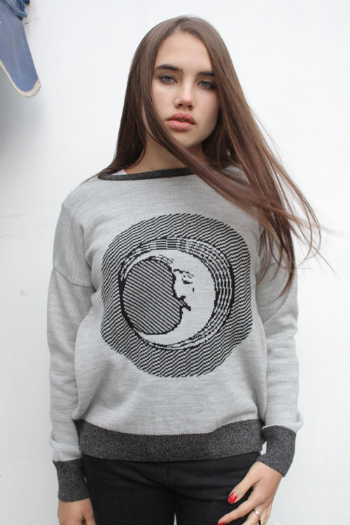 The Orphan's Arms — MOON FACE knitted jersey