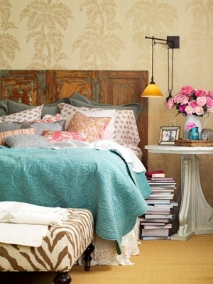 shabby chic-spare bedroom | Dream Cabin