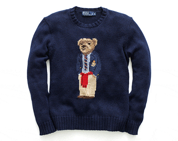 Ralph Lauren To Re-issue Polo Bear Sweaters - FreshnessMag.com