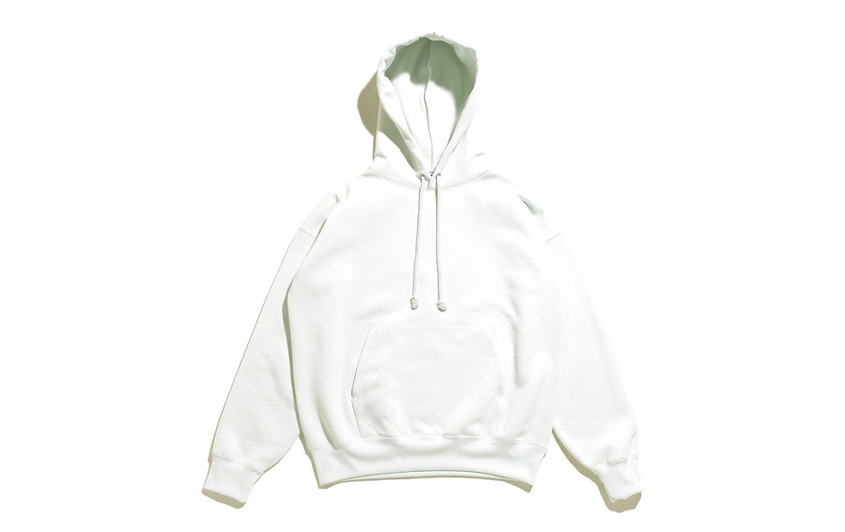 Baggy Polyester Sweat P/O Parka-Mint Green