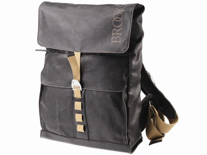 BROOKS ENGLAND LTD.   CYCLE BAGS & ACCOUTREMENTS   ISLINGTON RUCKSACK