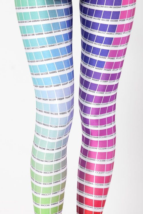 Color Chart Leggings