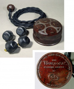 Lighting&Electric - 1940's 【COLT】Extension Cord + Bakelite 4-Outlet - FUNNY SUPPLY □ Antiques ■
