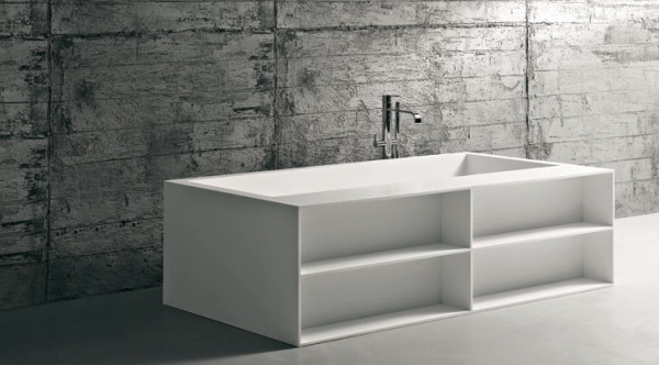 Biblio bathtub by Antonio Lupi