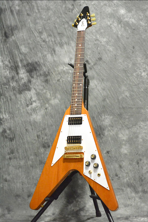 Gibson 2016 Limited Proprietary Flying V Reissue Natural 《s/n:160078921》 【心斎橋店】(新品)ITM0792902【Jギター楽器詳細 Gibson】