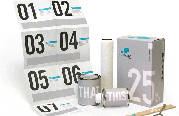 0:02 Idea Paint: Turn Your Whole Home Into a Big White Board!   Best Creative Designs