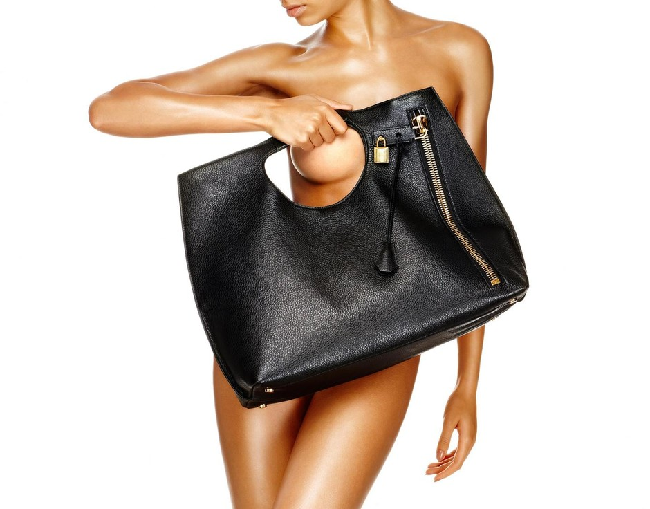 Alix Leather Tote - Tom Ford
