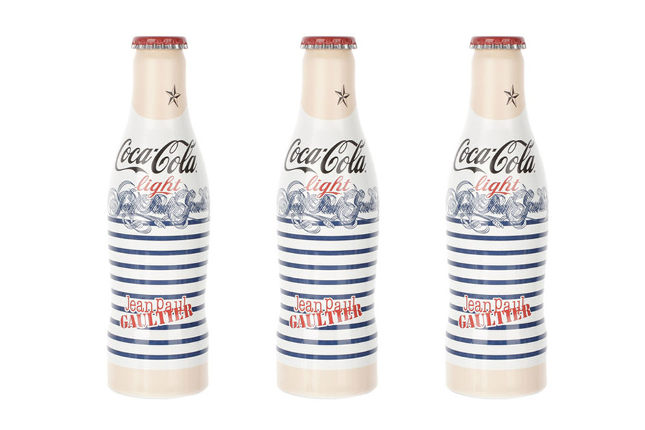 "Bouteille Jean-Paul Gaultier x Coca Cola Light ""Day"""