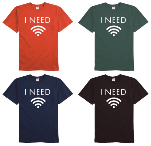 i'm a part of it - wifi tee color