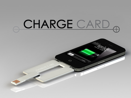 ChargeCard for iPhone and Android by Noah Dentzel + Adam Miller — Kickstarter