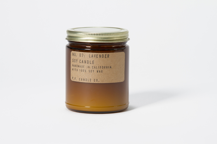 Lavender 7.5 oz Soy Candle — P.F. Candle Co.