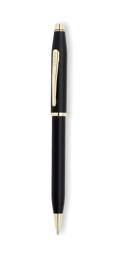 Cross Pens - Cross 2502WG Century II Classic Black With 23K Gold Plated Appointments Ballpoint Pen Only £63.19