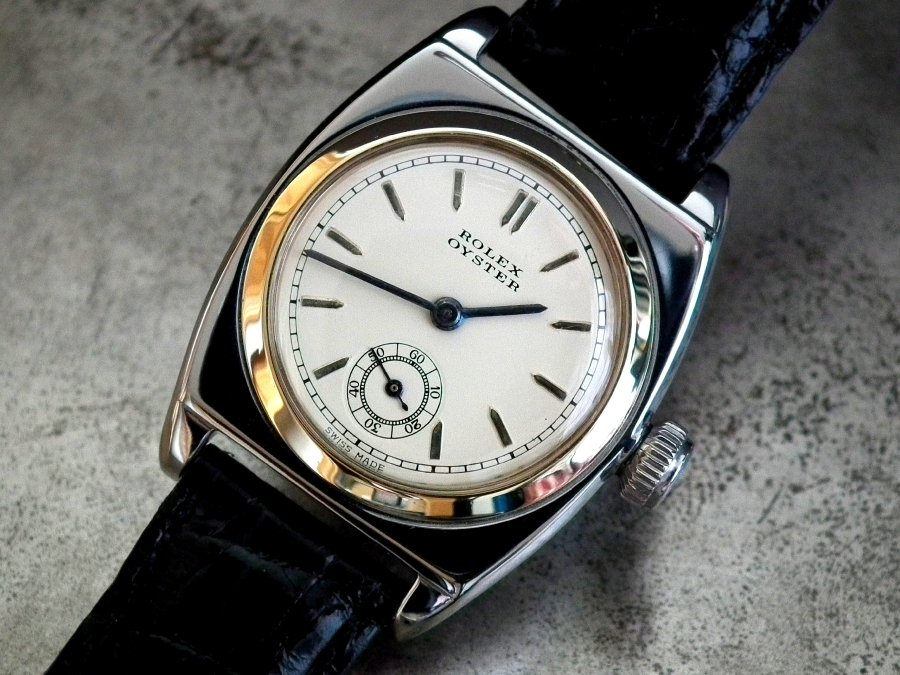 Near Collector Condition 1938 Steel & Gold Rolex Oyster Viceroy Gents Vintage Watch | Sonning Vintage Watches
