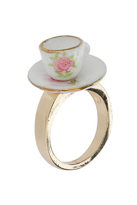 Jubilee Tea Cup Ring - Jubilee - Collections - Topshop USA