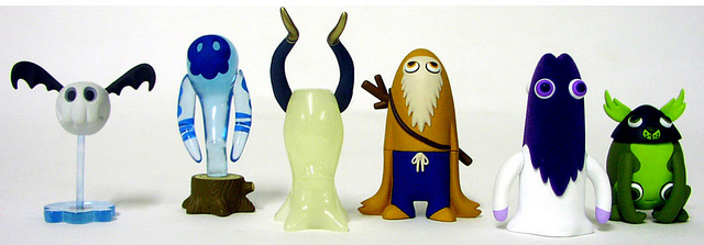 Monsterism Ken's Mysterious World gacha toys | Flickr - Photo Sharing!
