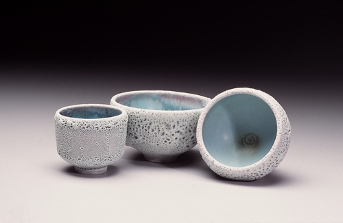Michael Hamlin-Smith: Ceramic Artwork Portfolio » Crater Glazed Bowls