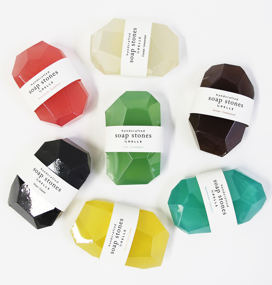 PELLE — Soap Stones by PELLE: Set of 7 Nuggets