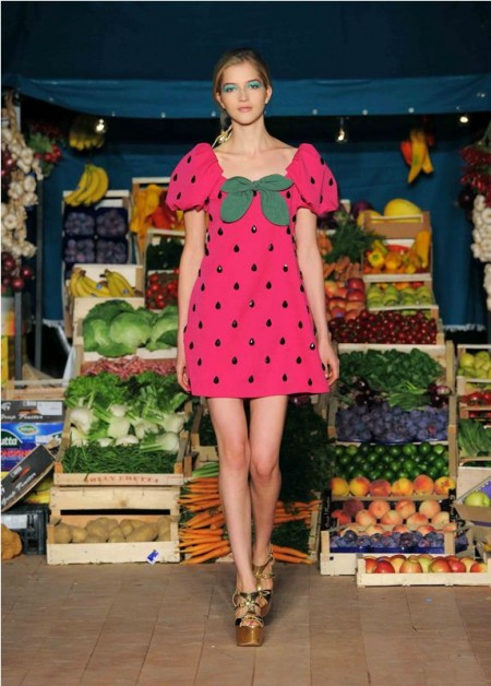 MOSCHINO CHEAP AND CHIC S/S 2012 – BEAUTY FOOD | MOSCHINO