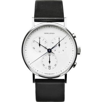 KOPPEL chronograph watch with date and second hand (model no. 317)