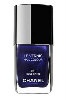 D&G Fever: Beauty obsessions: Le Vernis de Chanel - n° 461 Blue Satin