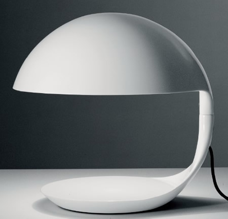Cobra table lighting. Cobra-shaped table lamp with a thin light | Architecture Home Designs