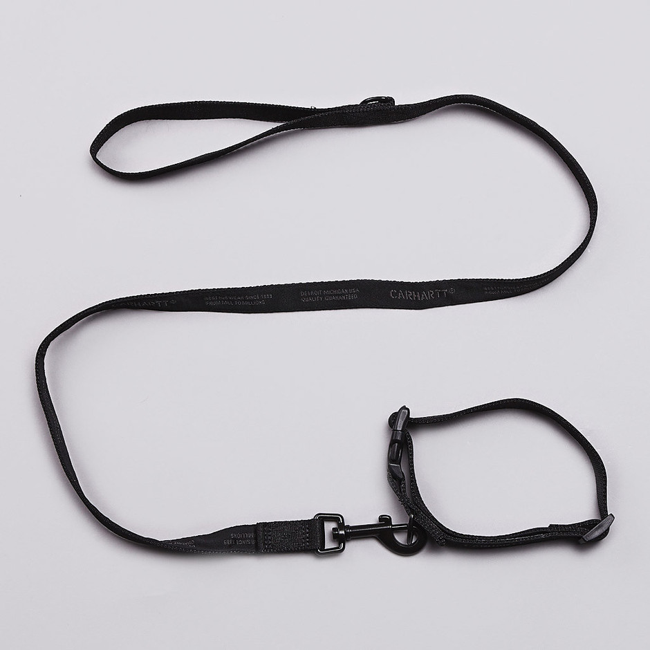 Flatspot - Carhartt Dog Collar And Leash Black