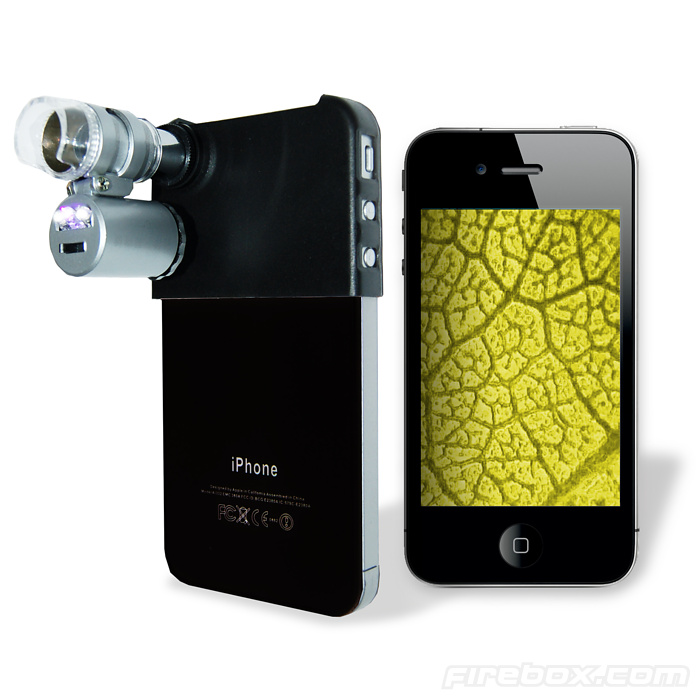 Mini Microscope for iPhone - buy at Firebox.com