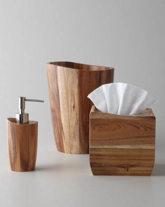 Kassatex Acacia Wood Vanity Accessories - Horchow