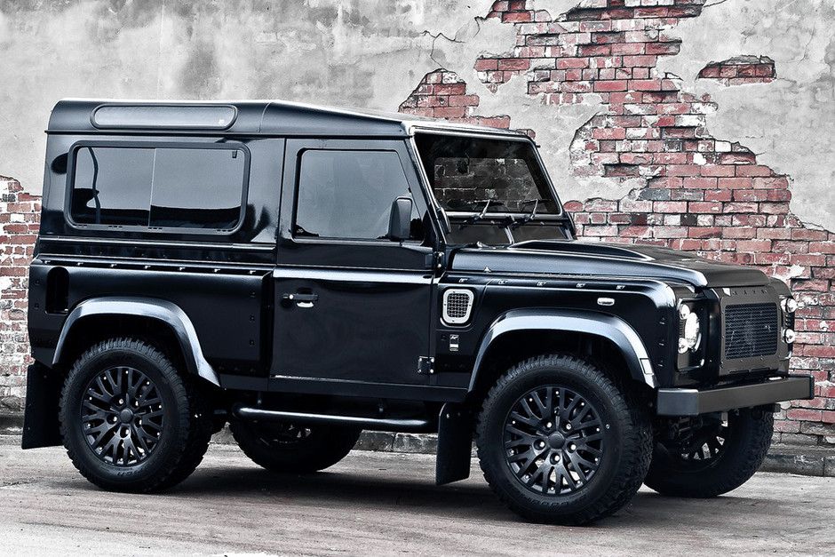 Land Rover Defender Harris Tweed Edition by Kahn Design | Hypebeast
