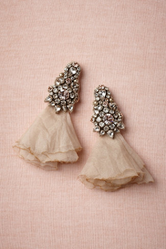 Brilliant Posy Drops in SHOP Shoes & Accessories Jewelry at BHLDN