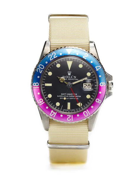 Vintage Watches Rolex Oyster Perpetual GMT-Master (c. 1967-'68) at Park & Bond ($5000+) - Svpply