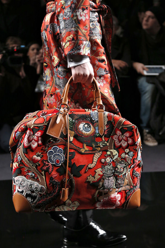 LOUIS VUITTON, Jake and Dinos Chapman : AW 2013 Jake and Dinos Chapman bag