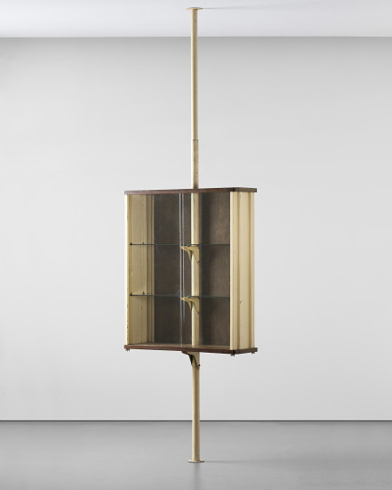 PHILLIPS : NY050312, Jean Prouvé, Suspended cabinet, designed for Ferembal House, Nancy