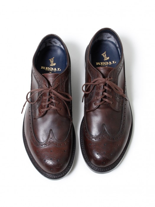 nonnative » DWELLER SHOES WING TIP – COW LEATHER WITH GORE-TEX® 2L BY REGAL