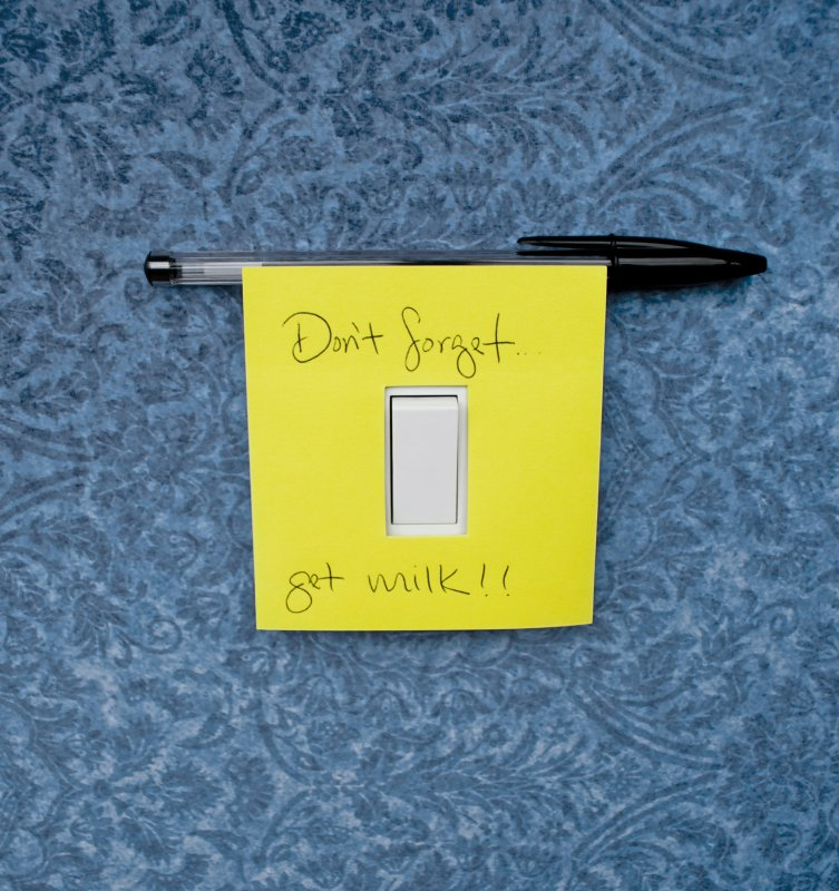 Switch Notes : Sticky notes to leave reminders on your light switch