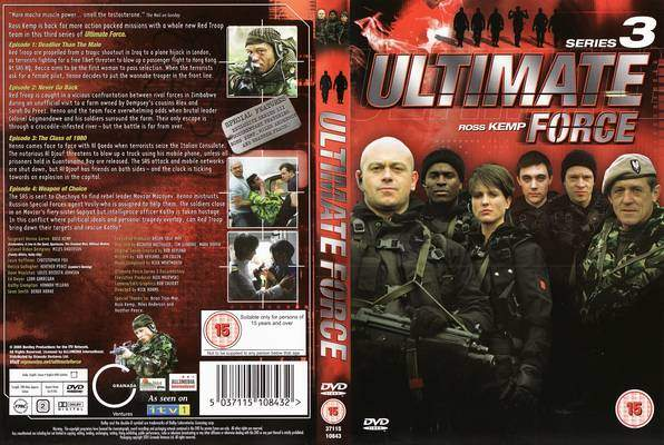 Ultimate Force: Series 3 R2 TV Cover | Cover Dude