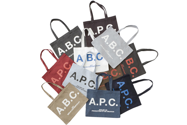 A.P.C. x Art Berlin Contemporary Tote Bags | SLAMXHYPE