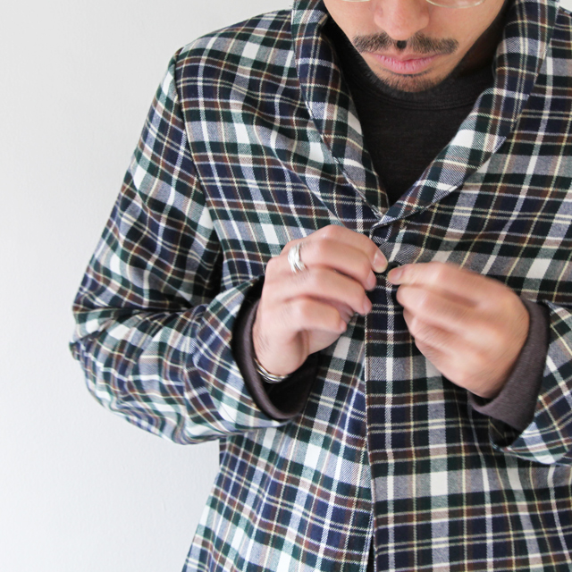 commono reproducts Nel Shirts Robe - Silver and Gold Online Store