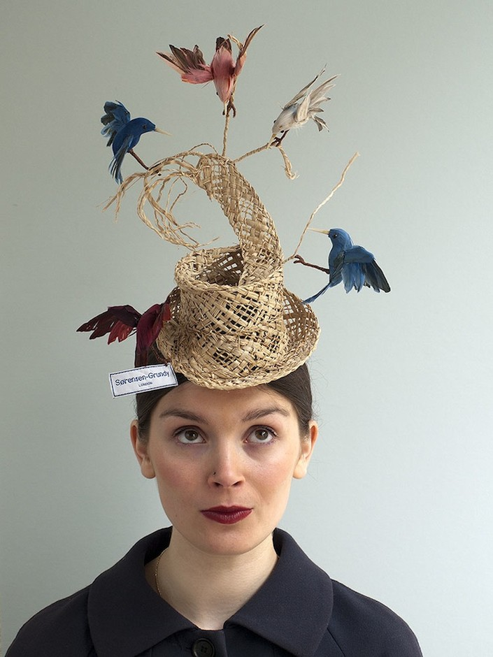 Whimsical Birds Hat Inspired by Cinderella Story - My Modern Metropolis