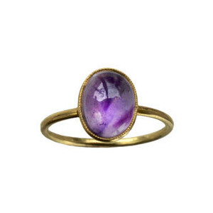 Early 1900s Amethyst Ring, 14K Gold : Erie Basin Antiques - Polyvore