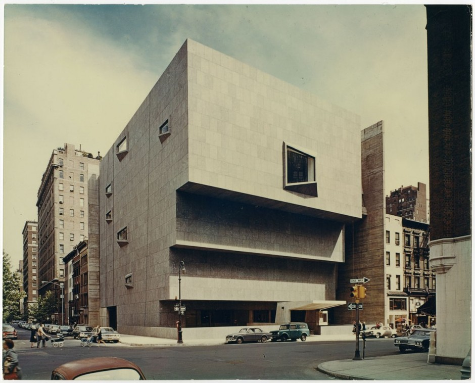 Syracuse University Unveils First Phase of Marcel Breuer Digital Archive Whitney Museum of American Art; New York, NY; ca. 1963-1966 – ArchDaily
