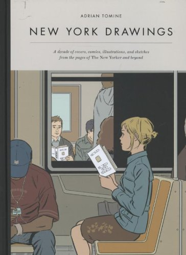 Amazon.co.jp: New York Drawings: Adrian Tomine: 洋書