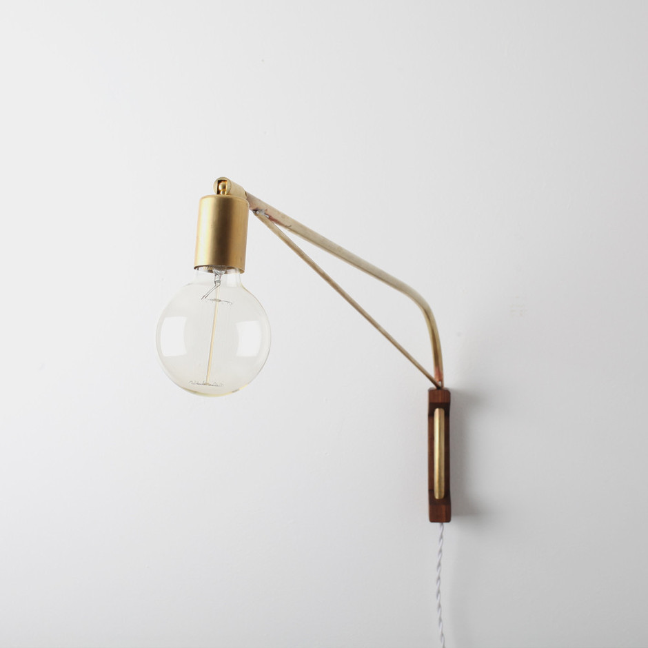 Bare Arc Wall Lamp | Allied Maker