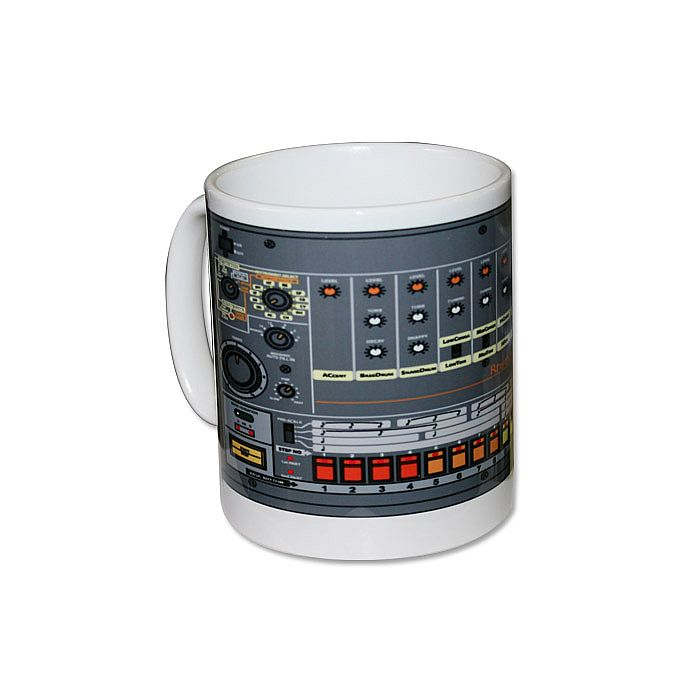 Roland TR808 Mug (10 oz, white) at Juno Records
