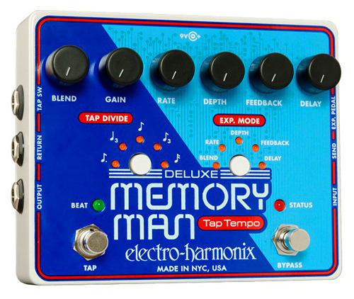 All sizes | Electro-Harmonix Deluxe Memory Man with Tap Tempo | Flickr - Photo Sharing!