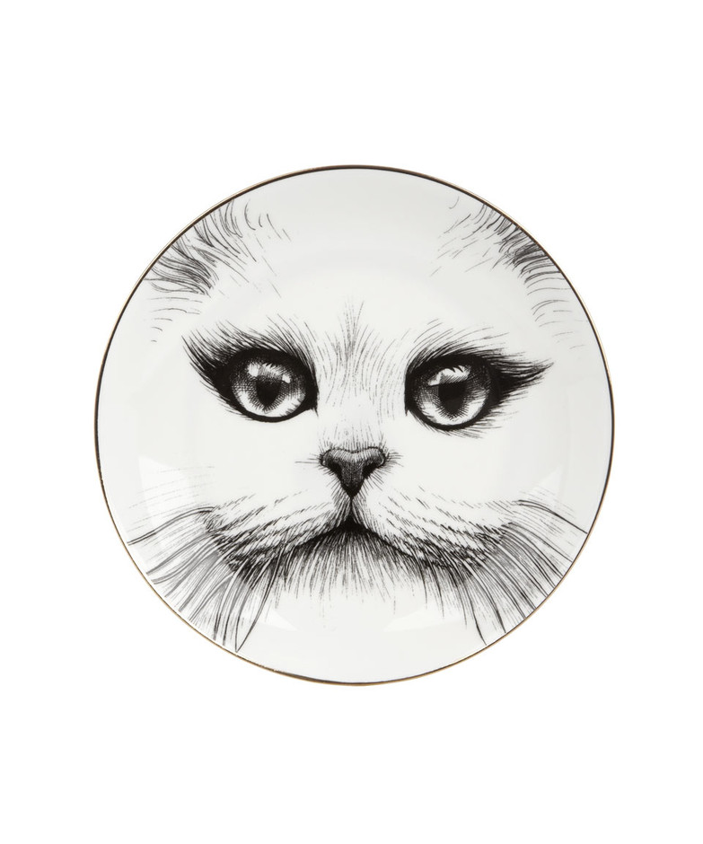 Cheshire Cat Perfect Side Plate, Rory Dobner. Shop more from the Rory Dobner collection at Liberty.co.uk